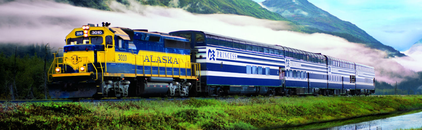 See Alaska by Luxury Rail