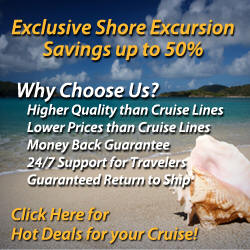 Book Shore Excursions